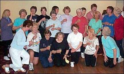 Mary Calvert Keep Fit Classes 1977 to 2002